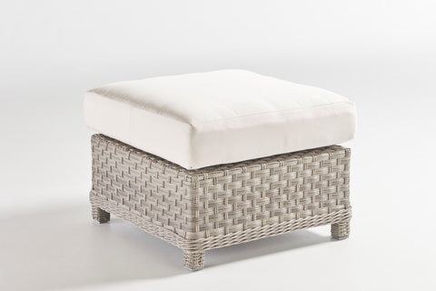 South Sea Rattan South Sea Rattan Mayfair Ottoman Ottoman - Rattan Imports