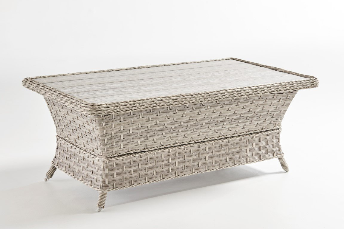South Sea Rattan South Sea Rattan Mayfair Coffee Table - Poly Top Coffee Table - Rattan Imports