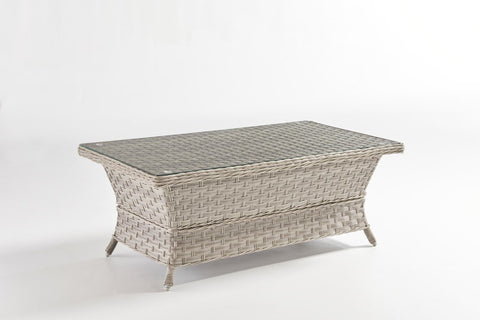 Mayfair Coffee Table - Glass Top by South Sea Rattan-South Sea Rattan-Rattan Imports