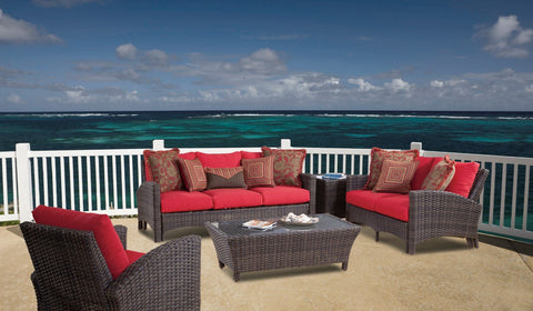 Panama Sofa by South Sea Rattan-South Sea Rattan-Rattan Imports