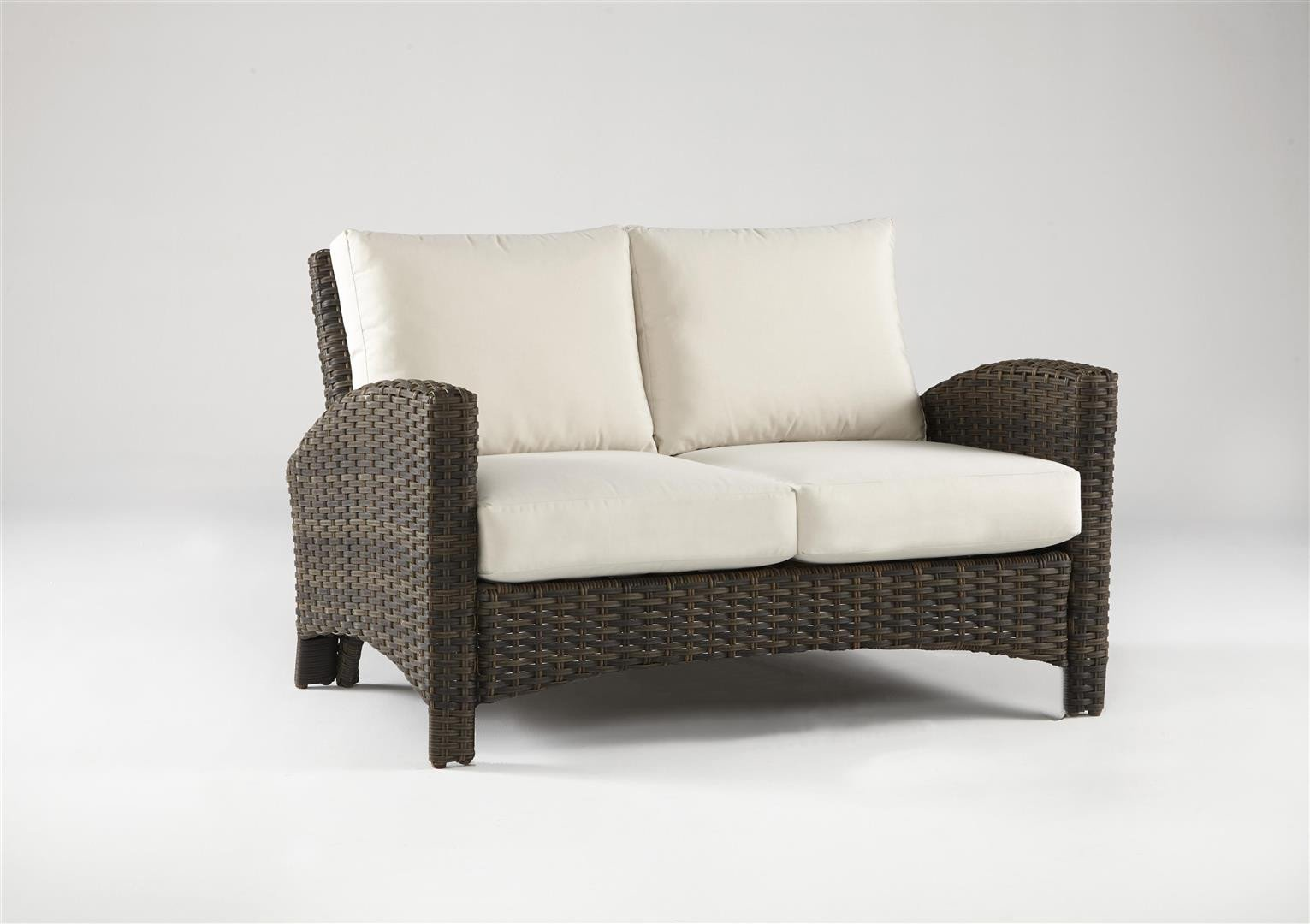 South Sea Rattan South Sea Rattan Panama Loveseat Loveseat - Rattan Imports