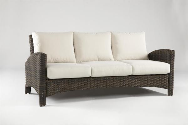 South Sea Rattan South Sea Rattan Panama 5-Piece Resin Wicker Conversation Set Seating Set - Rattan Imports