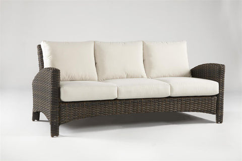 South Sea Rattan South Sea Rattan Panama Sofa Sofa - Rattan Imports