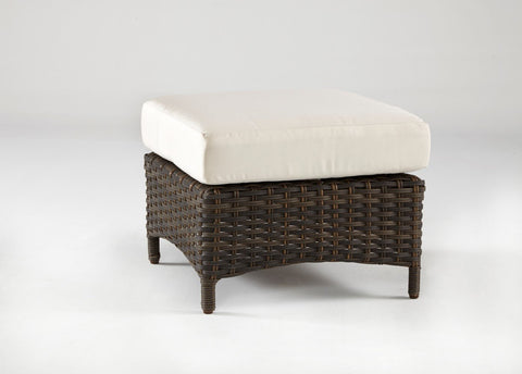Panama Ottoman by South Sea Rattan by South Sea Rattan-South Sea Rattan-Rattan Imports