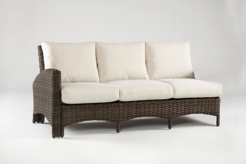 Panama One Arm Sofa Left-Side Facing Sectional by South Sea Rattan-South Sea Rattan-Rattan Imports