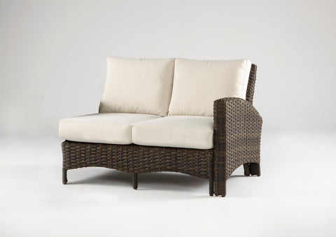 Panama One Arm Loveseat Right-Side Facing Sectional by South Sea Rattan-South Sea Rattan-Rattan Imports