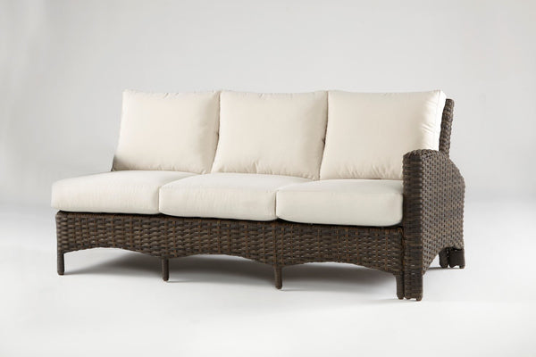 Panama One Arm Sofa Right Side Facing Sectional By South Sea Rattan South  Sea