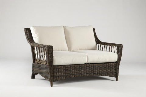 South Sea Rattan South Sea Rattan St. John Resin Wicker Loveseat Loveseat - Rattan Imports
