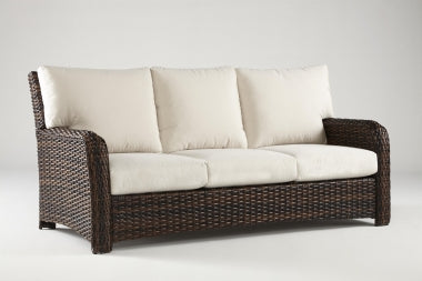 South Sea Rattan South Sea Rattan St. Tropez Sofa Sofa - Rattan Imports