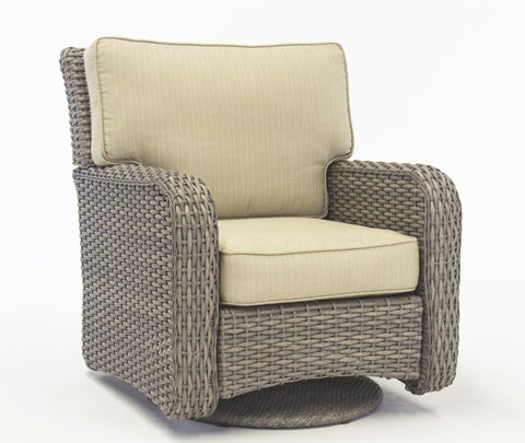 St. Tropez Swivel Glider by South Sea Rattan-South Sea Rattan-Rattan Imports