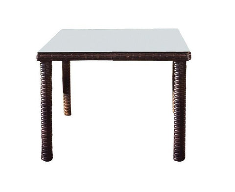 South Sea Rattan South Sea Rattan St. Tropez Square Dining Table Dining Table - Rattan Imports