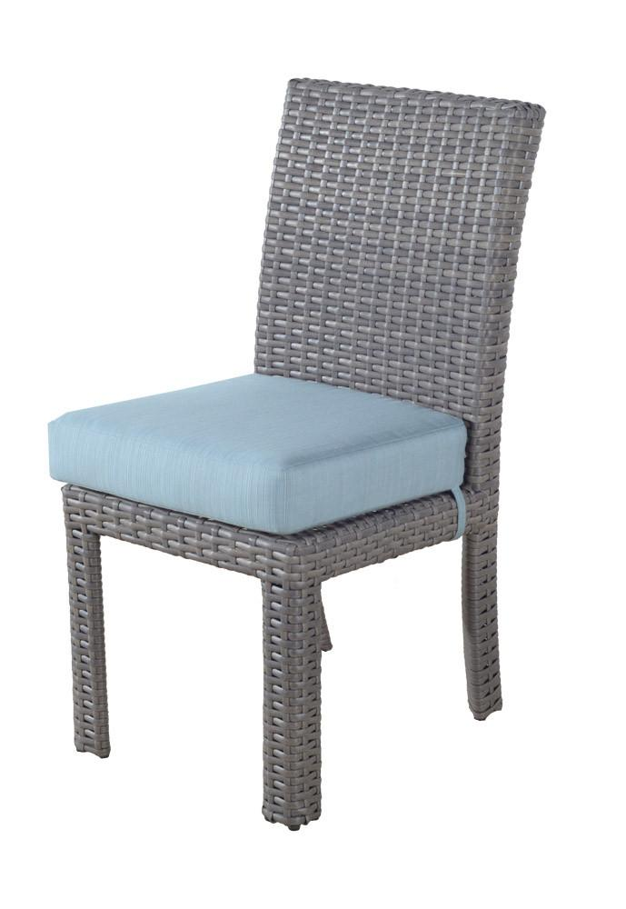 South Sea Rattan South Sea Rattan St. Tropez Dining Side Chair Chair - Rattan Imports