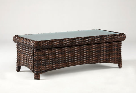 South Sea Rattan South Sea Rattan St. Tropez Coffee Table Coffee Table - Rattan Imports