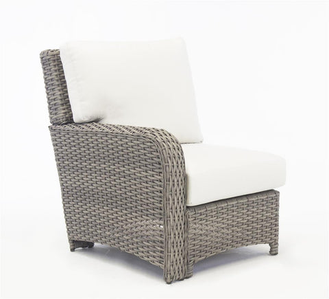 St. Tropez Sectional End Left-Side Facing Piece by South Sea Rattan-South Sea Rattan-Rattan Imports