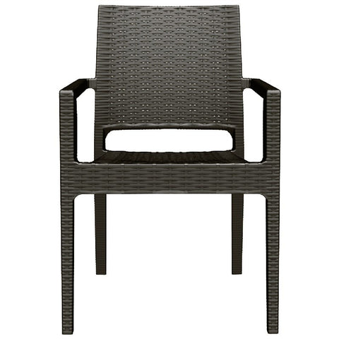 Compamia Compamia Siesta Ibiza Resin Wickerlook Dining Arm Chair (Set of 2) Chair - Rattan Imports