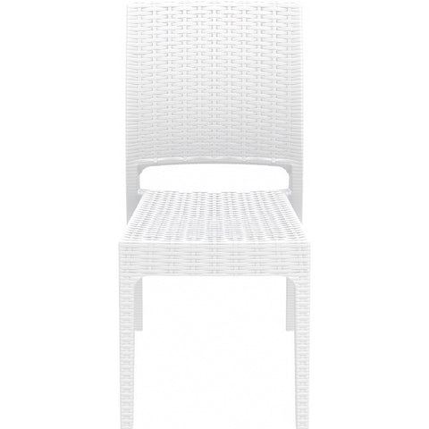 Compamia - Siesta Florida Resin Wickerlook Dining Chair - White -  - 1
