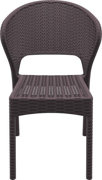 Compamia - Siesta Daytona Resin Wickerlook Dining Chair - Brown -  - 1