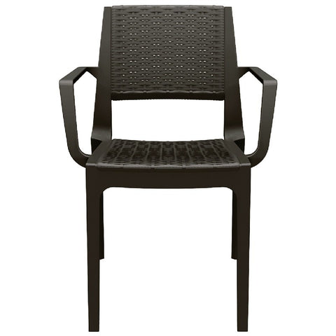 Compamia Compamia Siesta Capri Resin Dining Arm Chair (Set of 2) Chair - Rattan Imports