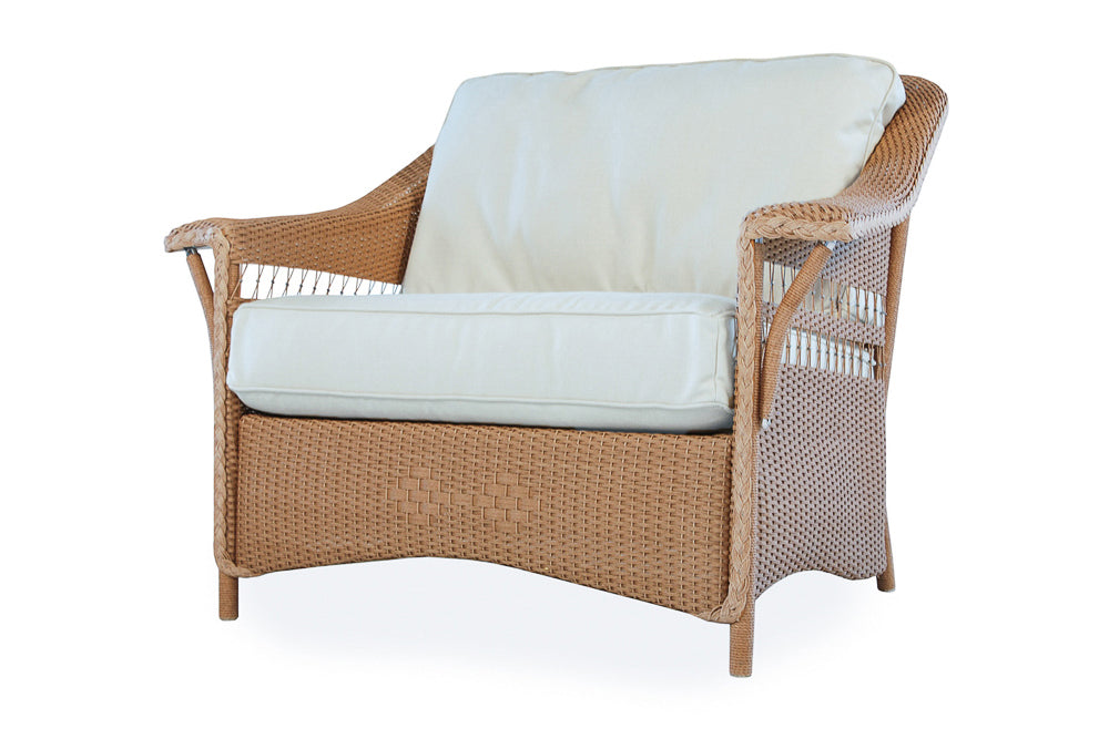 Lloyd Flanders Nantucket Chair and a Half