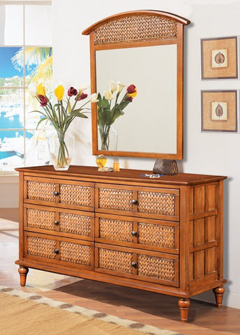 Sea Winds Trading - Abaco 6 Drawer Dresser -  -  - 1