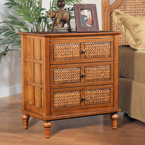Sea Winds Trading - Abaco 3 Drawer Chest -  -