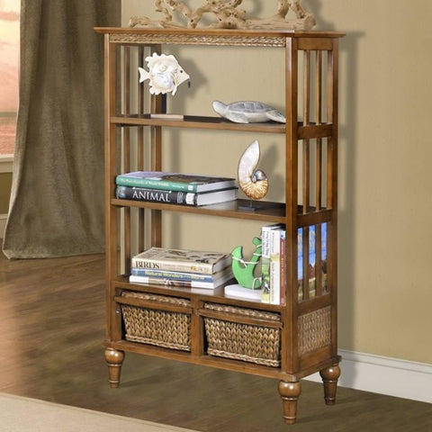 "Sea Winds Trading - Abaco 48"" Bookcase -  -"