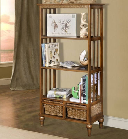 "Sea Winds Trading - Abaco 60"" Bookcase -  -"