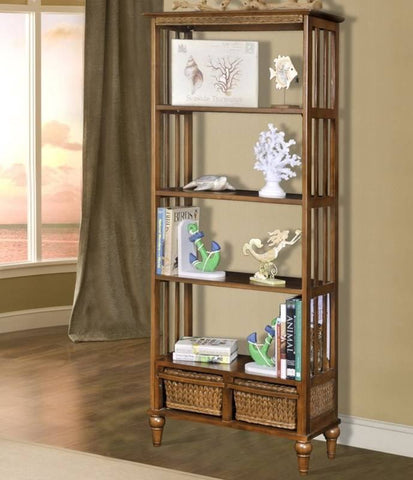 "Sea Winds Trading - Abaco 72"" Bookcase -  -"