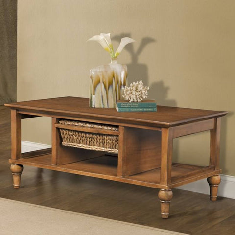 Sea Winds Trading - Abaco 1 Basket Coffee Table -  -