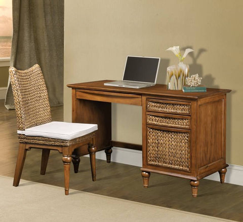 Sea Winds Trading - Abaco Desk & Chair Set -  -