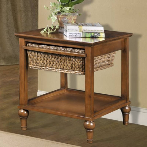 Sea Winds Trading - Abaco 1 Basket End Table -  -