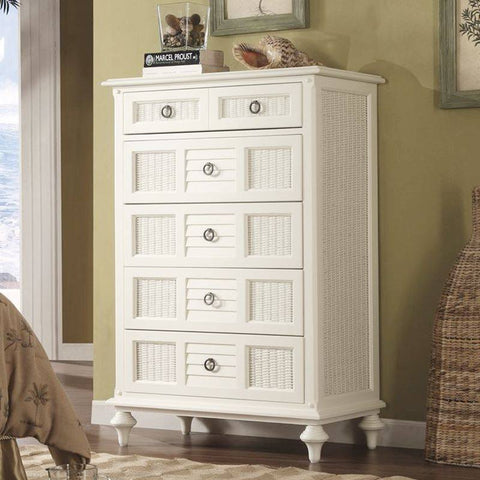 Sea Winds Trading - Aruba 6 Drawer Tall Split Chest -  -