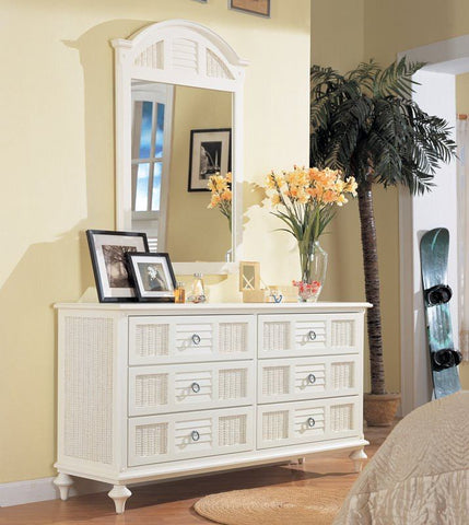 Sea Winds Trading - Aruba 6 Drawer Dresser -  -  - 1