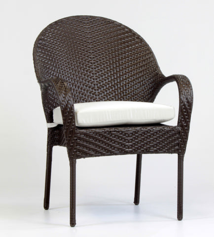 South Sea Rattan Bahia Bistro Dining Arm Chair