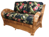 Spice Islands Kingston Reef Love Seat Cinnamon by Spice Islands-Spice Islands-Rattan Imports
