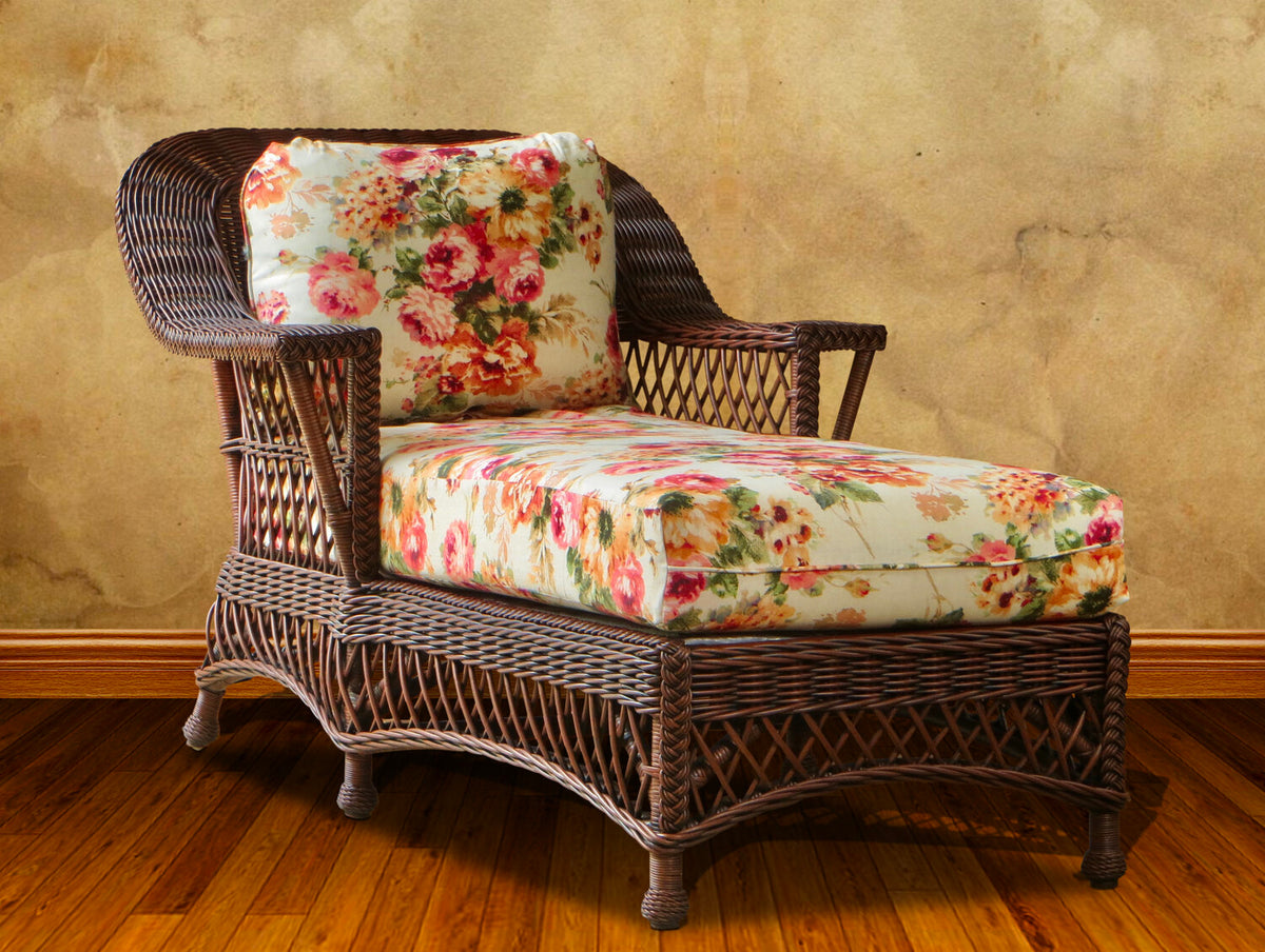 Spice Islands Bar Harbor Chaise Lounge Brownwash