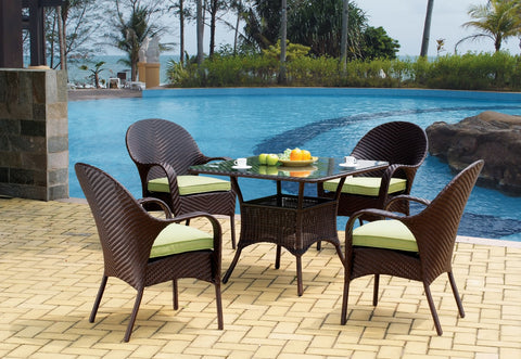South Sea Rattan Bahia Bistro Dining Set