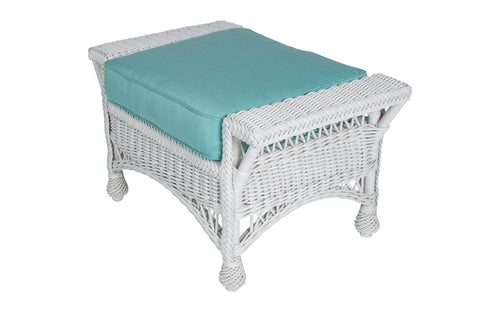 Designer Wicker & Rattan By Tribor Rockport Ottoman by Designer Wicker from Tribor Ottoman - Rattan Imports