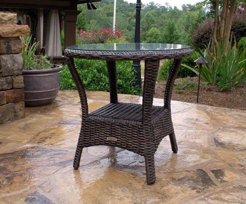 Tortuga Outdoor Bayview Side Table from Tortuga Outdoor-Tortuga Outdoor-Rattan Imports