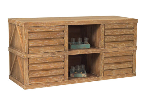 Designer Wicker & Rattan By Tribor CABIN SIDEBOARD Accessory - Rattan Imports