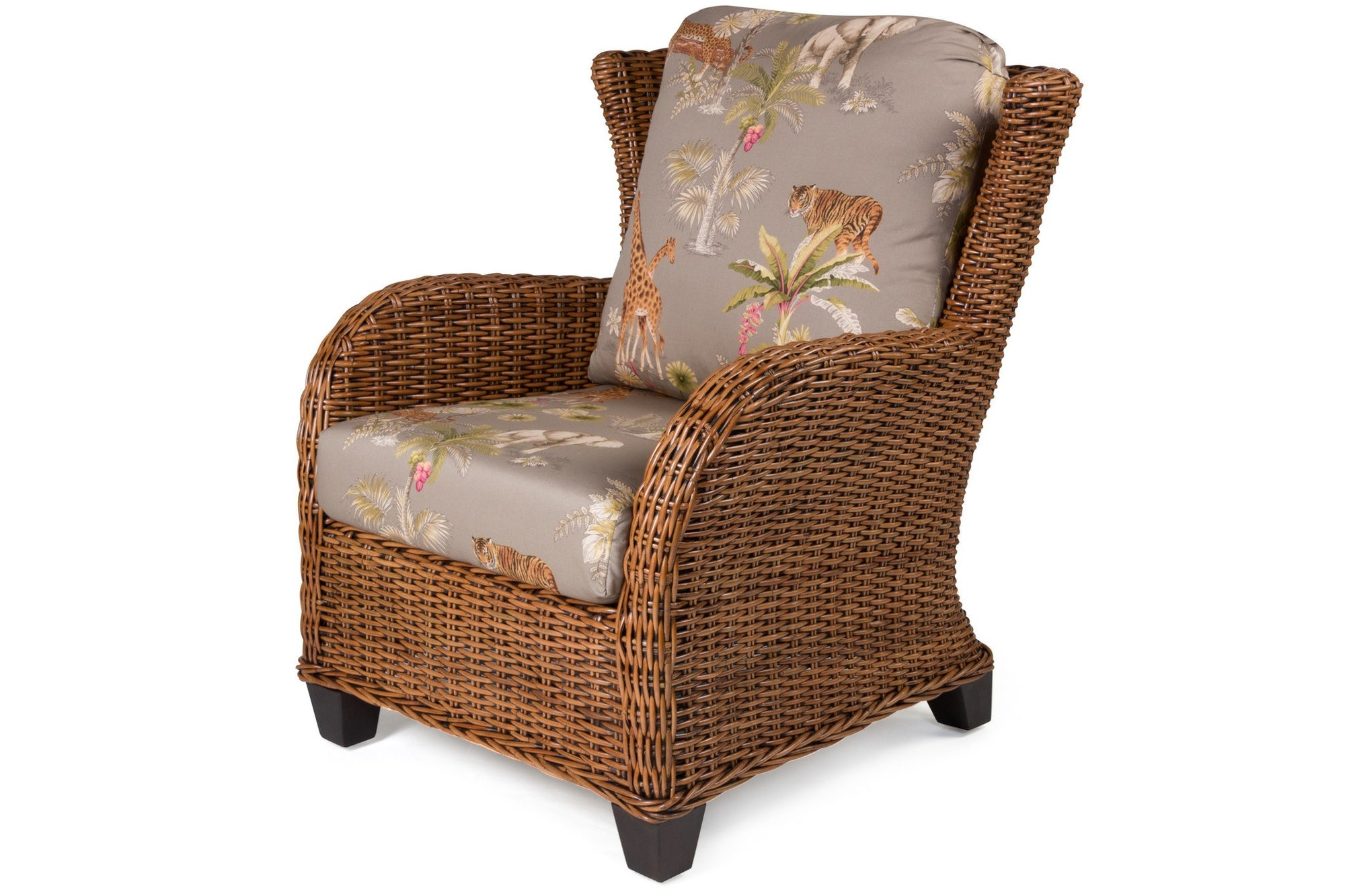 Designer Wicker & Rattan By Tribor Clarissa Porch Arm Chair Chair - Rattan Imports