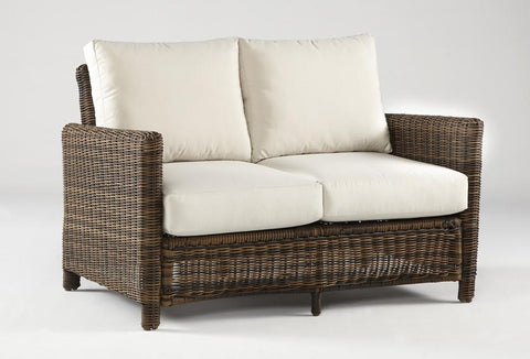 Del Ray Loveseat by South Sea Rattan-South Sea Rattan-Rattan Imports