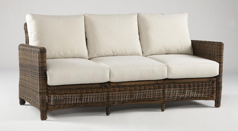 South Sea Rattan South Sea Rattan Del Ray Outdoor Sofa Sofa - Rattan Imports