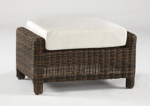 Del Ray Ottoman by South Sea Rattan-South Sea Rattan-Rattan Imports