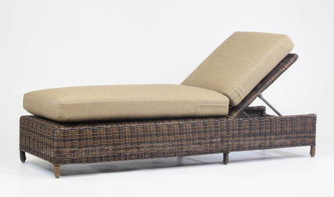 Del Ray Chaise Lounge by South Sea Rattan-South Sea Rattan-Rattan Imports