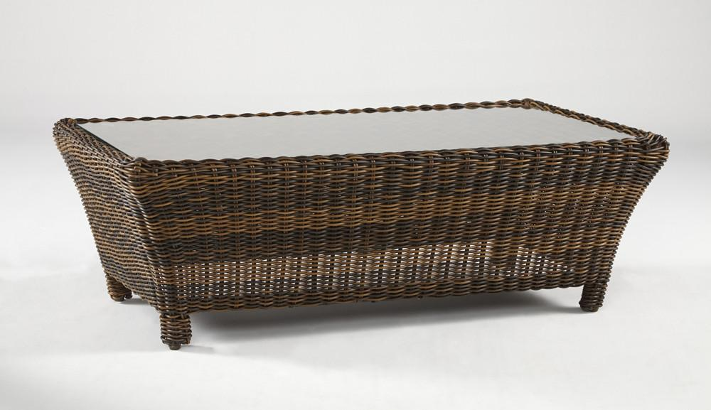 South Sea Rattan South Sea Rattan Del Ray Coffee Table Coffee Table - Rattan Imports
