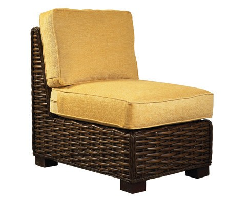 Designer Wicker & Rattan By Tribor Freeport Armless Chair by Designer Wicker from Tribor Chair - Rattan Imports