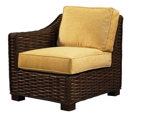 Designer Wicker & Rattan By Tribor Freeport Left Arm Chair by Designer Wicker from Tribor Chair - Rattan Imports