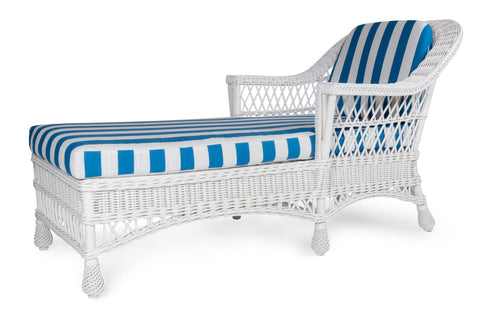 Designer Wicker & Rattan By Tribor Harbor front Chaise by Designer Wicker from Tribor Lounge Chair - Rattan Imports