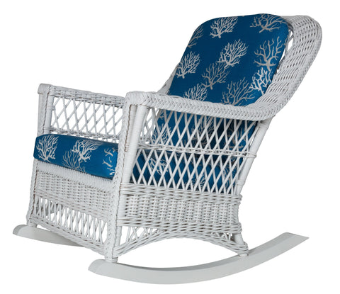 Designer Wicker & Rattan By Tribor Harbor Front Rocker by Designer Wicker from Tribor Rocking Chair - Rattan Imports
